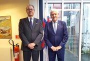 Belgiski sendiharrin fund við Poul Michelsen