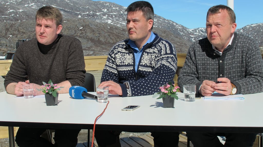 Grønland vertur fyri ríkisfundinum hósdagin