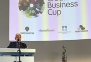 Poul Michelsen, landsstýrismaður, setti Føroyska Creative Business Cup 2018
