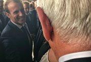 Poul Michelsen hitt Macron