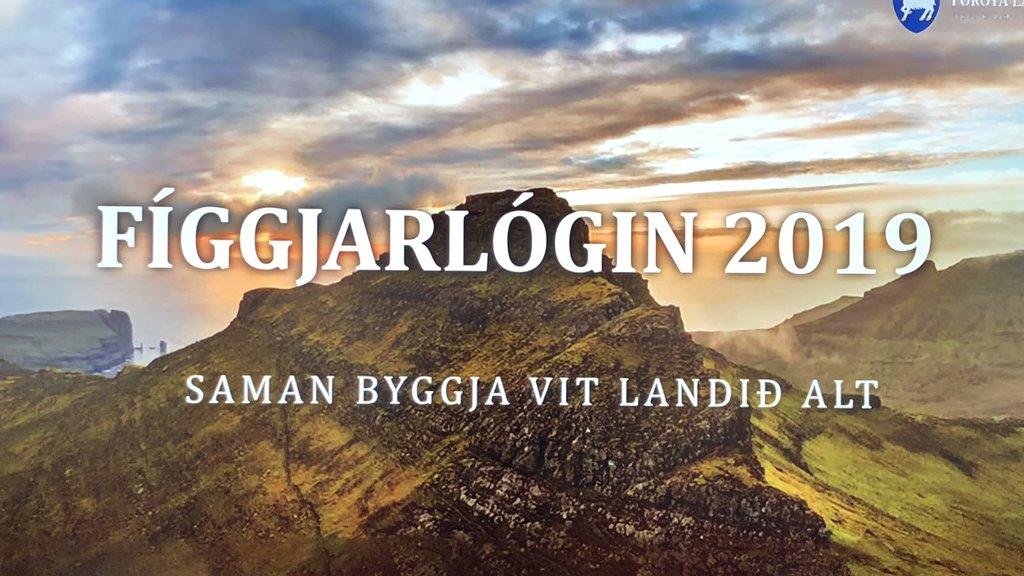 Framløgan frá tíðindafundinum um fíggjarlógaruppskotið