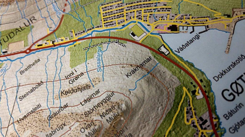 Í dag verður málsøkið landkort yvirtikið