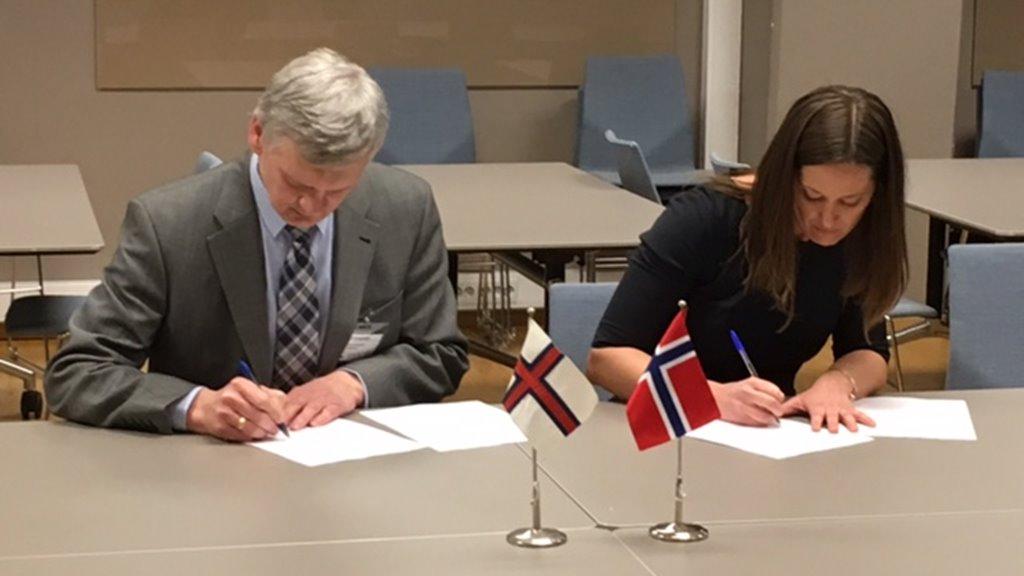 Føroyar og Noreg gjørt semju um fiskiveiðiavtalu fyri 2019