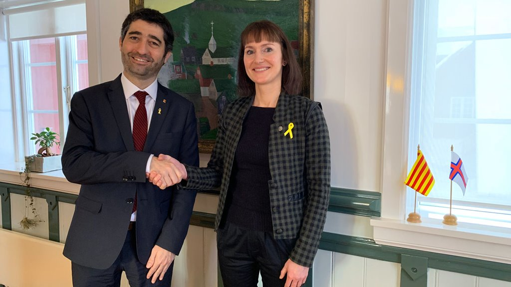 Jordi Puigneró, Minister of Digital Policies of Catalonia, visits Faroe Islands