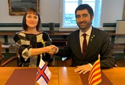 Catalonia and the Faroe Islands agree to pursue cooperation and new solutions based on Advanced Digital Technologies