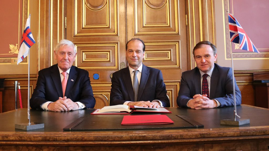 The Faroe Islands and the United Kingdom sign free trade agreement