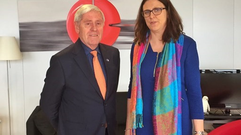 Minister for Foreign Affairs of the Faroe Islands to meet Commissioner Malmström