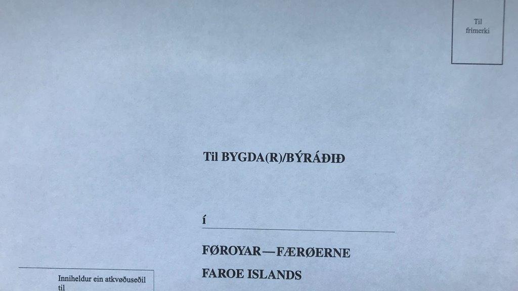 Rætturin til at brævatkvøða til løgtingsvalið 2019