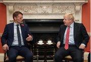 Løgmaður ynskir Boris Johnson til lukku