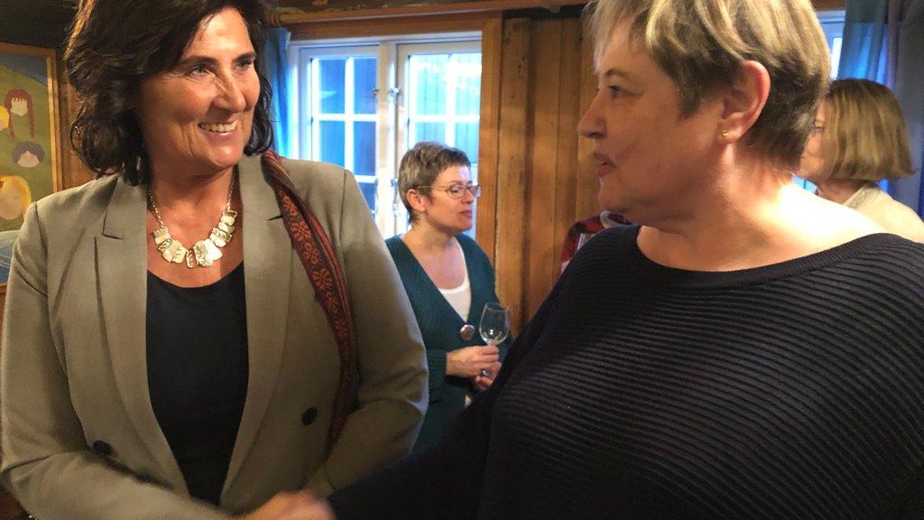 Elsebeth Mercedis Gunnleygsdóttur røðu fyri Elini Planck