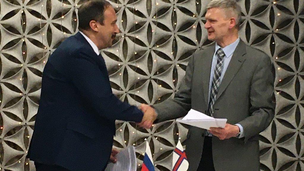Føroyar og Russland gjørt avtalu um fiskiskap fyri 2020