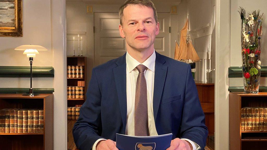 Nýggjársrøða løgmans gamlaárskvøld 2019