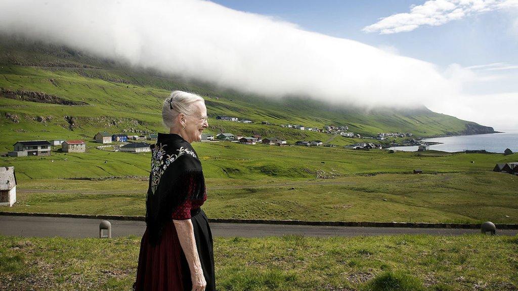 Løgmaður sent hennara hátign Margrethu drotningeina føðingardagskvøðu