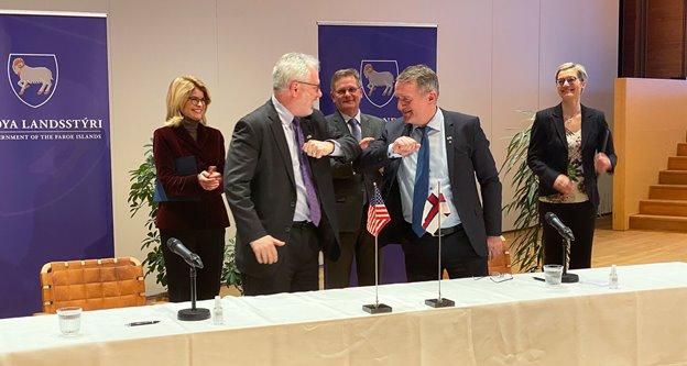 Faroe Islands and USA sign Partnership Declaration