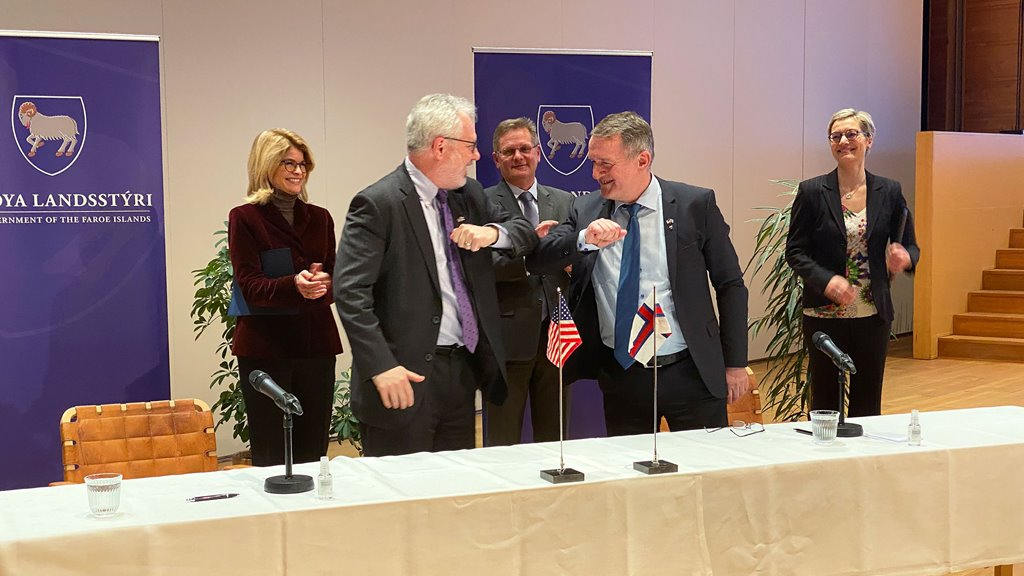 Faroe Islands and USA sign Partnership Declaration