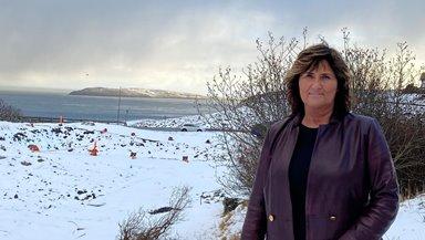 Spakin settur í til nýggja sambýlið á Mýrini í Hoyvík