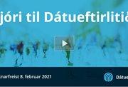 Stjóri til Dátueftirlitið