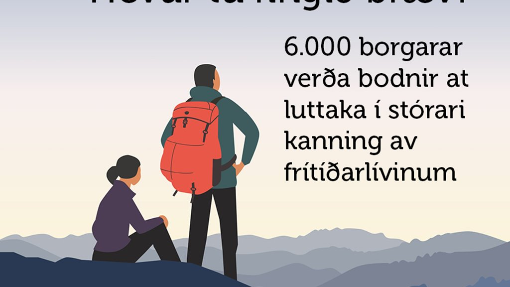 Borgarar verða eggjaðir at stuðla stórari kanning av frítíðarlívinum í Føroyum
