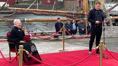 Røða løgmans fyri hennara hátign Drotningini á Bursatanga 15. juli 2021