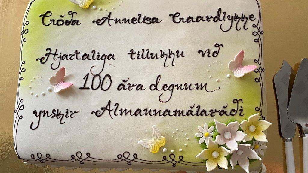 Annelisa Gaardlykke 100 ár