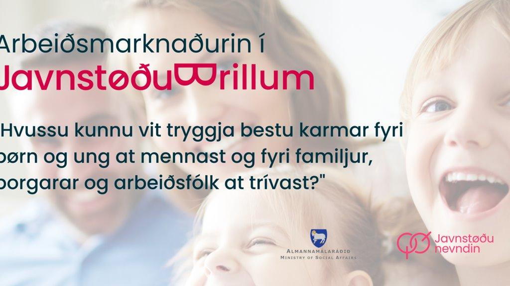 Arbeiðsmarknaðurin í javnstøðubrillum