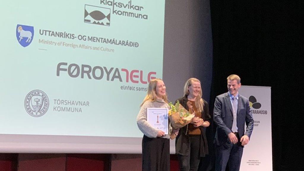 Løgmaður heiðraði Breyðvirkinum