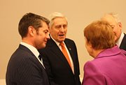 Poul Michelsen, Minister of Foreign Affairs and Trade, hosts reception in Copenhagen