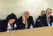UPR hearing in Geneva